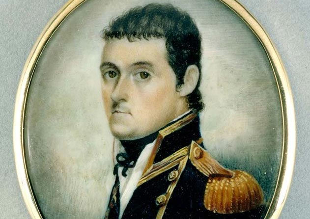 Matthew Flinders in Navy uniform. State Library of New South Wales