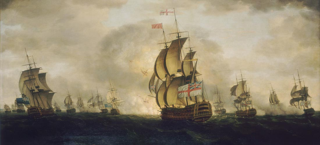 War of American Independence-Battle of Cape St. Vincent